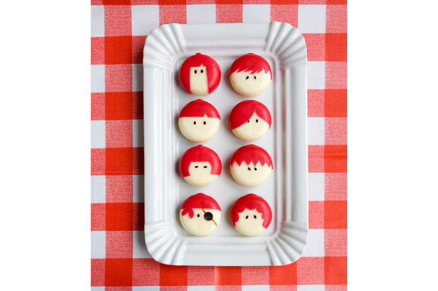 Babybelle faces (children's treat)
