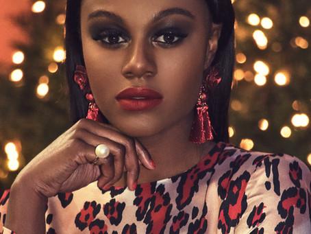 Edwina LaShan Holiday Shoot... Featuring Model Kedreca: Styled By Edwina LaShan!