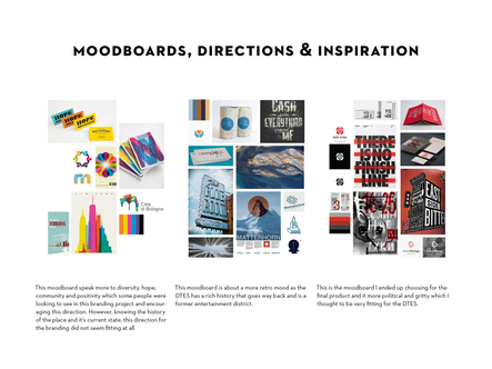 Moodboards - Process