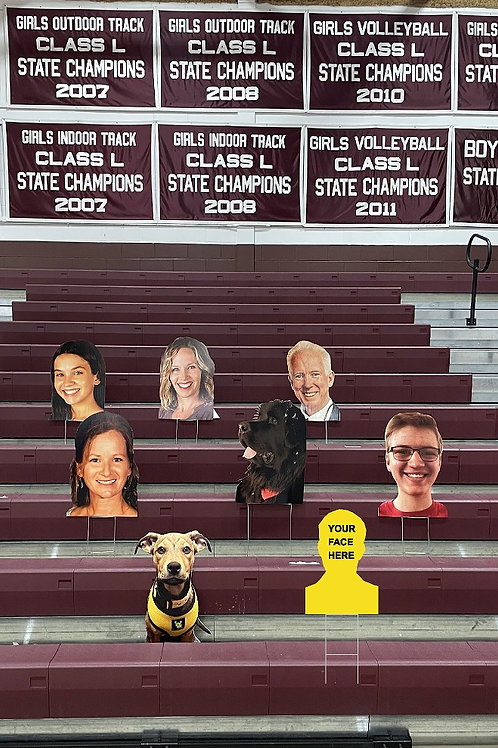 5 SuperFans in the Stands