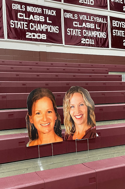 2 SuperFans in the Stands
