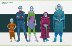 bonpe - characters