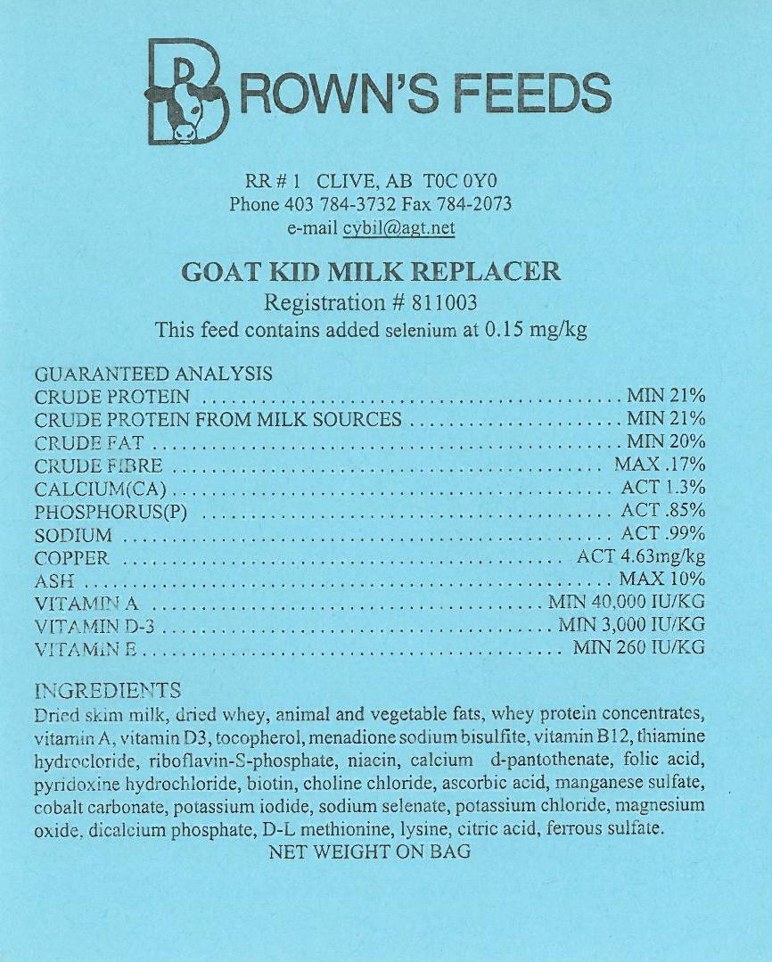 goat kid front