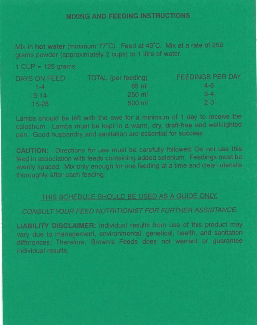 Brown's Feeds | Alberta Wholesale | Hi-Brow Ltd  | Lacombe