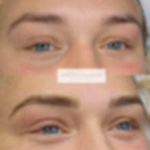 Microblading before and after by Rebecca