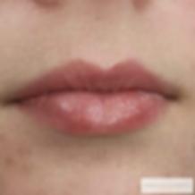 ferdig helbredet lip blush tattoo Rebecc