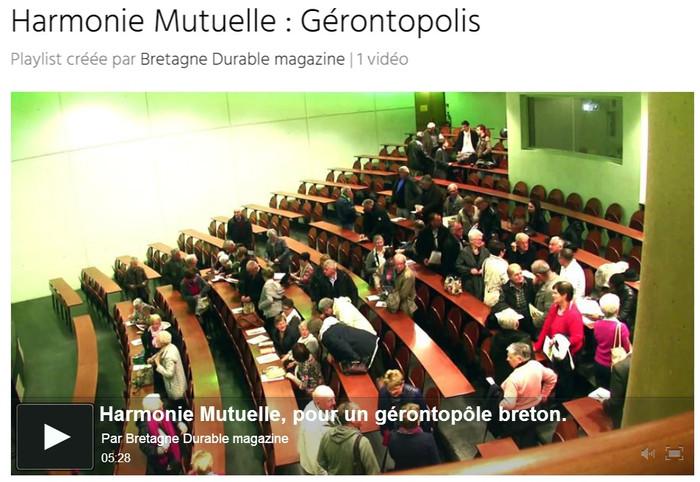 Gérontopolis : Reportage de Bretagne Durable sur le projet Gérontopolis