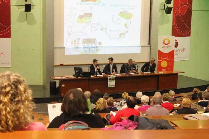 Colloque Gérontopolis : Un tsunami de cheveux gris à Sciences-Po Rennes