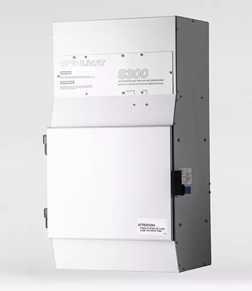 Combined HEPA filtration system and UV purification for a complete IAQ solution in one unit