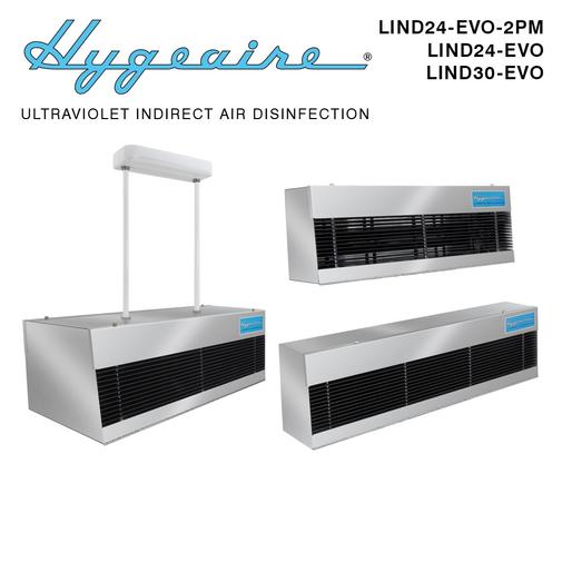 Hygeaire upper room air disinfection fixtures