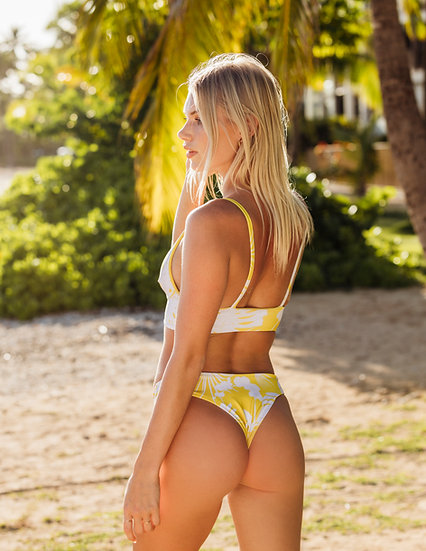 "Tropicious"" Vacay Bottom in Mango"