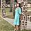 "Thumbnail: Tropicious"" Lea Puff Sleeve Dress in Linen"
