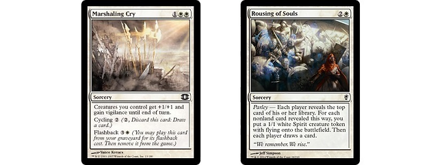 These Cards Above Are Great Due To Their Low Cmc And High Utility White Has Always Been Strong With Removal And Creature Utility
