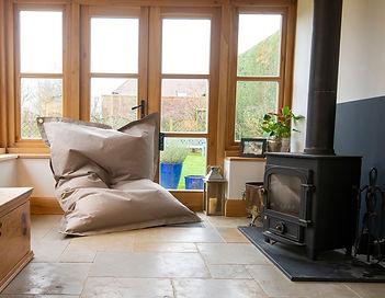 MAXX Beanbag - big indoor beanbag fireplace conversatory furniture for home