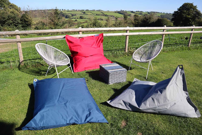 Summer furniture garden outdoor bean bags