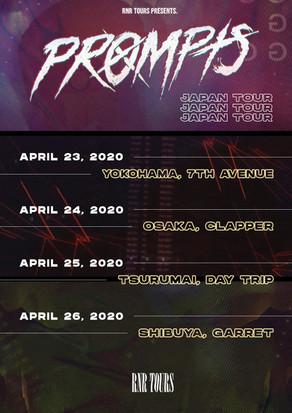 PROMPTS JAPAN TOUR 2020 開催決定!