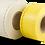 Kabelmærker på rulle - PUR mærker - Opmærkning -  Hvid - Gul