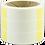 Ledningsmærker - Wrap-around - Selvlaminerende - Valgfri tekst - Gul