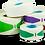 Rørmærker - Røropmærkning - Rørmærkning - Rør Labels - Røretiketter - Hvid - Gul - Grøn - Blå - Rød - Orange