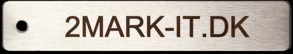 TAG Mærker - TAG skilt - Stål - Syrefast 316 - Opmærkning -  Valgfri tekst- Logo
