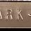 Kabelmærke - Kabelskilt - Præget - Stål - 316 syrefast - Opmærkning - Valgfri tekst