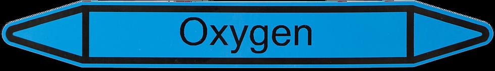 Rørmærke - Rørmærkning - Valgfri tekst - Vinyl - Vand - Gas - Blå - Gul - Grøn - Rød
