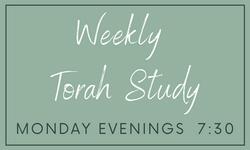 Copy of Copy of Weekly Torah  Study