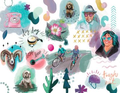 bike-bike-spot-watercolour-illustrations