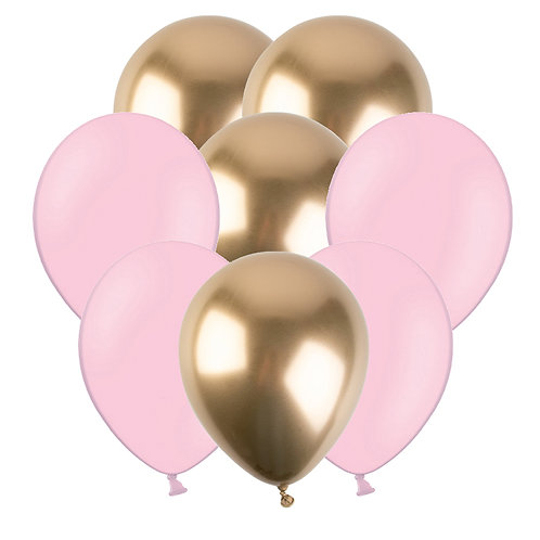 PALLONCINI PINK&GOLD