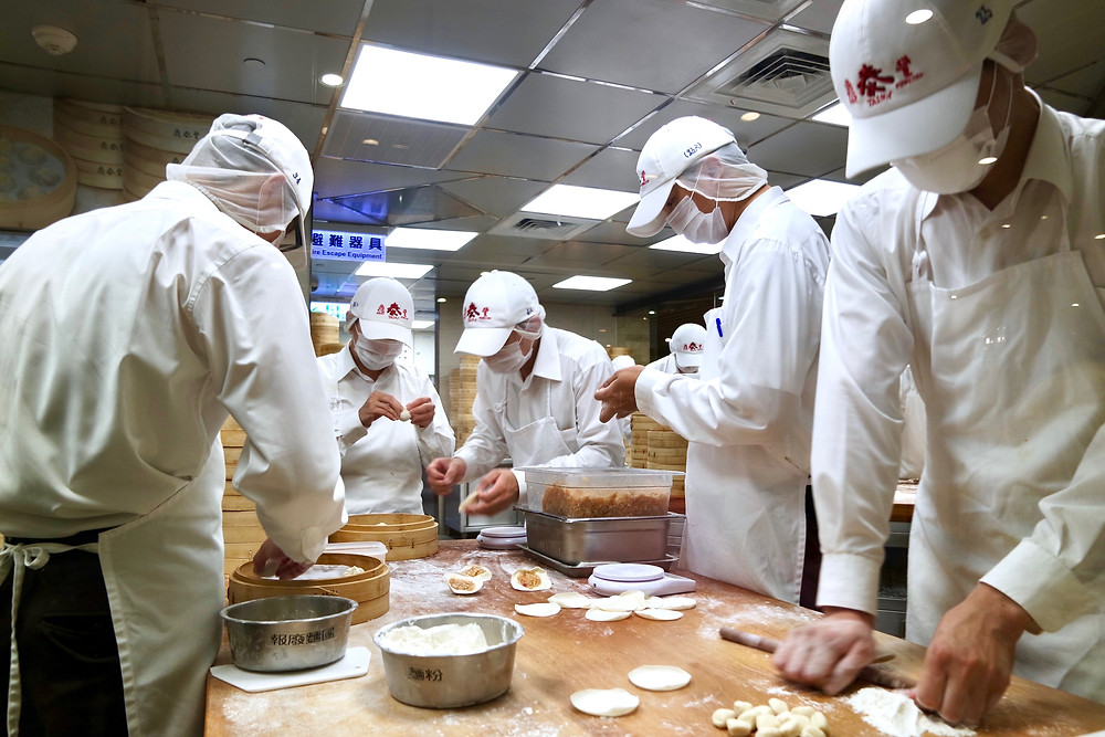 Where to eat on a budget? Chefs working in Din Tai Fung