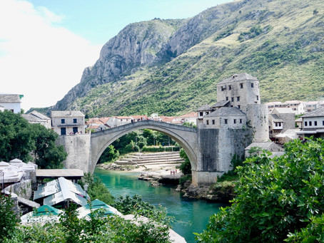 The best urban exploration in Mostar