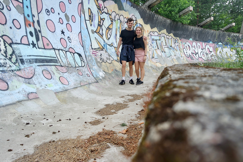 What to do in Sarajevo? Visit the abandoned Bobsleigh track.