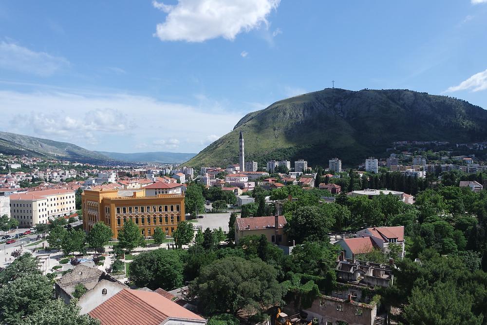 Urban Exploration Mostar Sniper Tower View