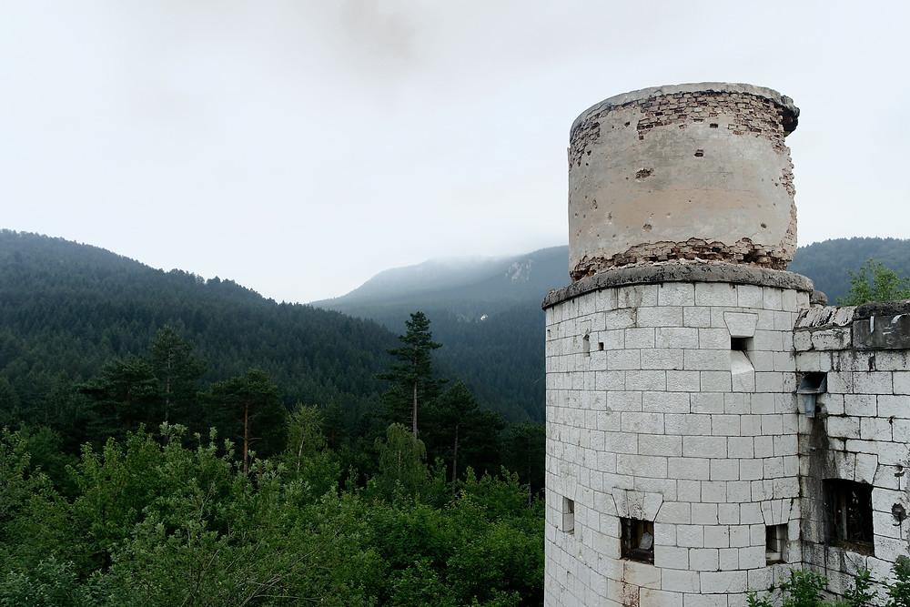 Urban Exploration: Beautiful views from the Čolina Kapa Astronomical Observatory, Sarajevo