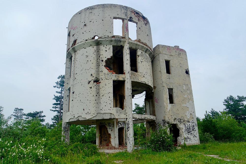 Urban Exploration:The remains of the  Čolina Kapa Astronomical Observatory, Sarajevo