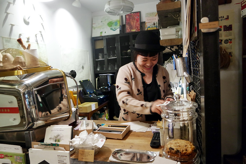 Travel Tip: Check out cute independent shops in Da'an District 大安区 Shopping
