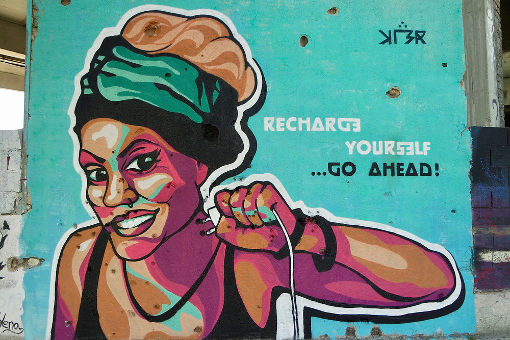 Grafiti competition helps covered scared walls with colour