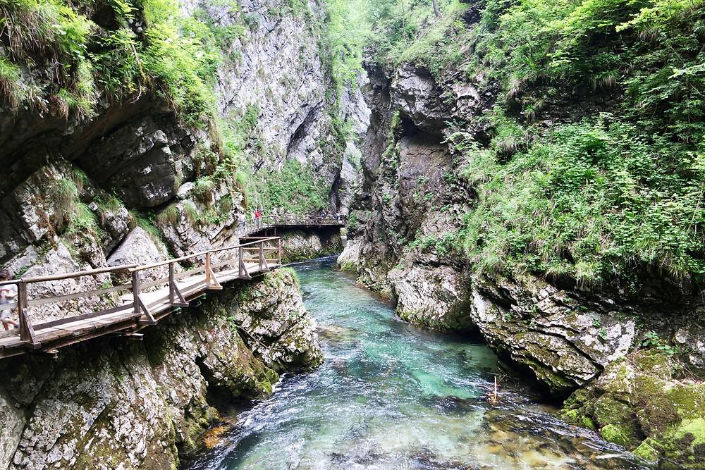 Lake Bled Slovenia: Vintgar Gorge