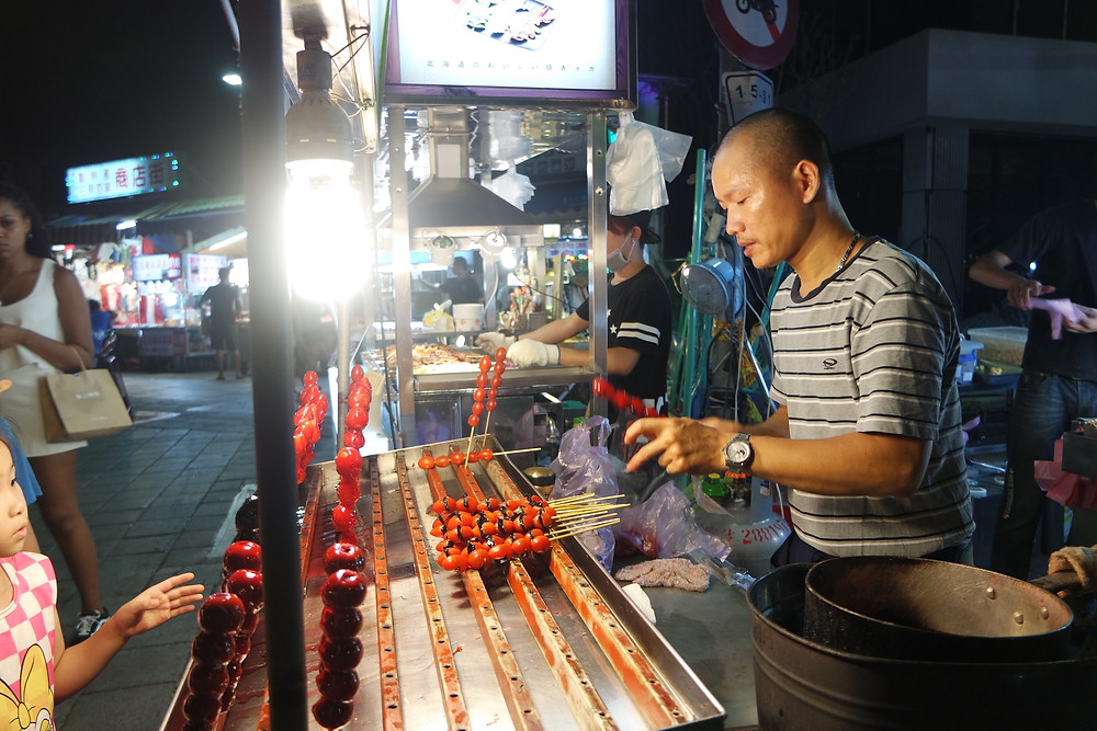 Taipei, Taiwan: The best food can be found at  Shilin Night Market 士林夜市
