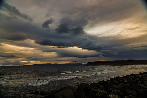 iceland, north iceland, ocean, color, limited edition, fine art