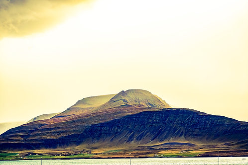 Iceland, South Iceland, landscape, sunset, storms, clouds, mountains, color, limited edition, fine art, photography