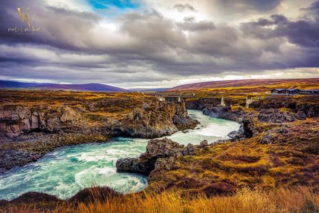 Godafoss River Iceland