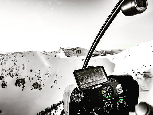 Wyoming, Yellowstone, mountains, helicopter, aerial, landscape, color, limited edition, fine art
