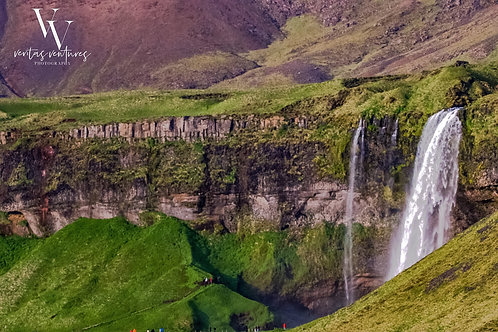 Iceland, south iceland, waterfall, color, limited edition, fine art photography