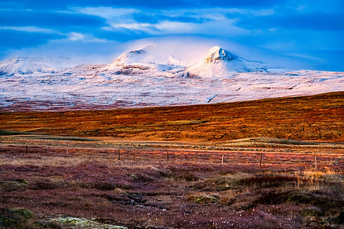 iceland, north iceland, landscape, mountains, color, limited edition, fine art