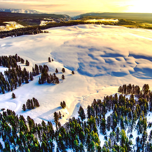 Montana, paradise valley, Yellowstone, mountains, aerial, landscape, color, limited edition, fine art, photography