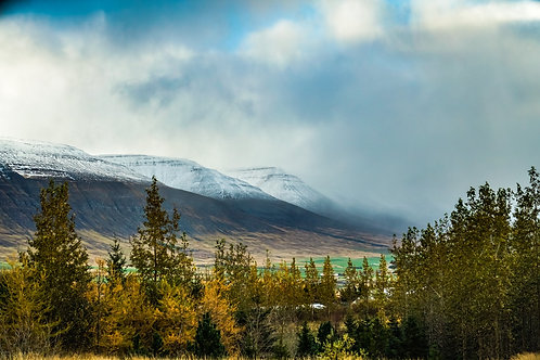 Iceland, North Iceland, landscape, mountains, roads, color, limited edition, fine art, photography