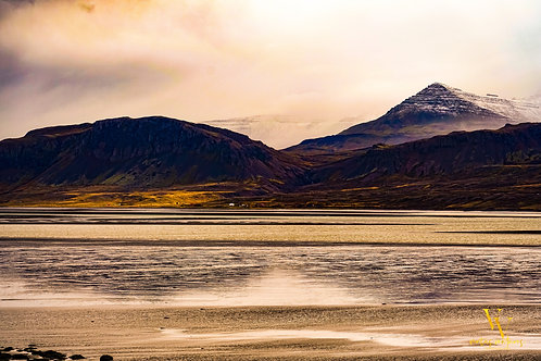 Iceland, South Iceland, landscape, sunset, storms, clouds, mountains, water, color, limited edition, fine art, photography