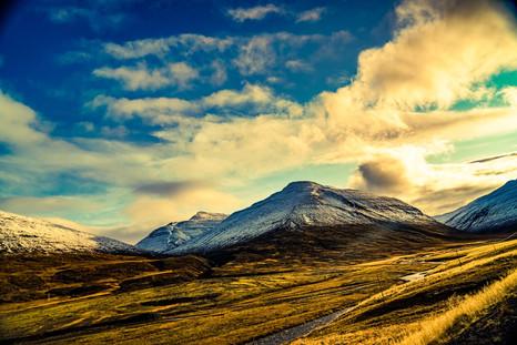 Driving to North Iceland akureyri