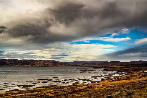 Iceland, West Iceland, landscape, ocean, mountains, roads, color, limited edition, fine art, photography